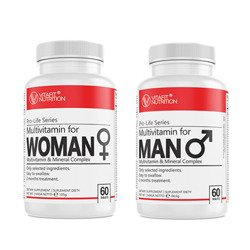 VITAFIT Multivitamin for WOMAN 60 tabl + for MAN 60 tabl